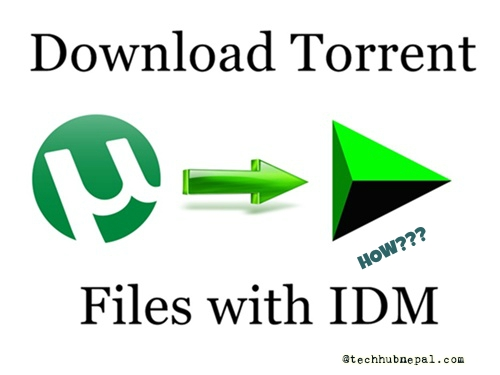 easiest and fast way to download torrent with idm