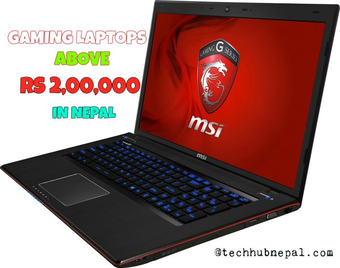 gaming laptops in nepal