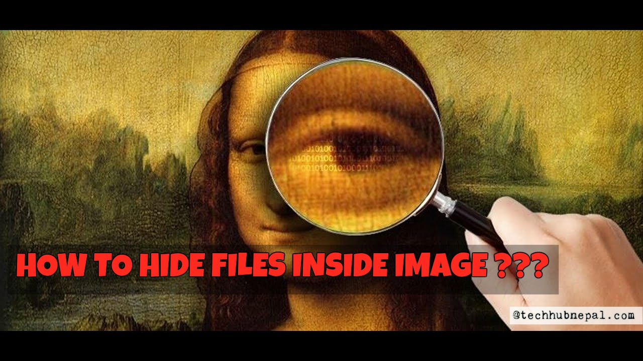 easy and fast and secure way to Hide Files Inside an Image
