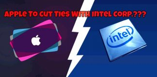 apple cut ties with intel