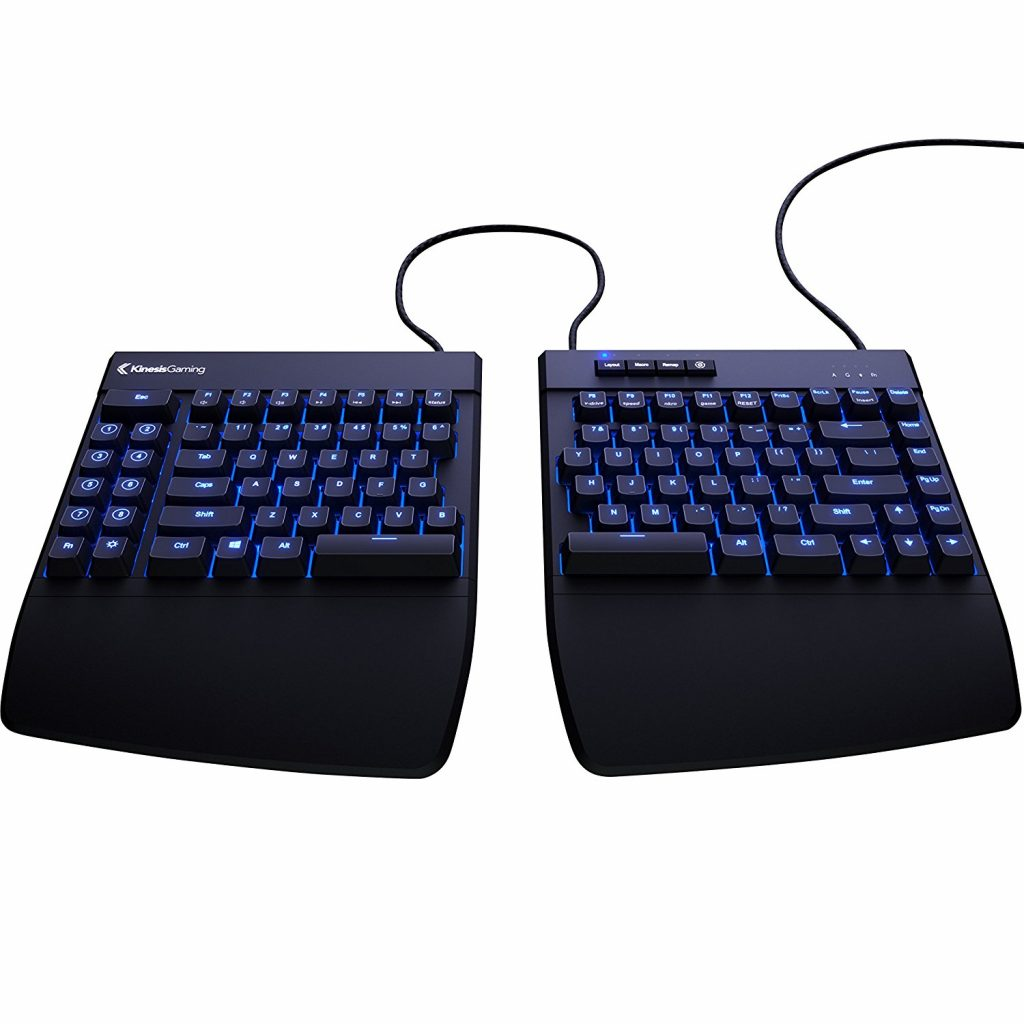 kinesis freestyle edge split gaming keyboard