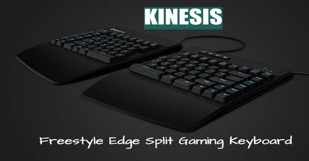 kinesis freestyle edge split mechanical keyboard