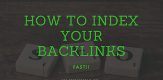 how to index your backlinks