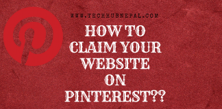 how to Claim Our Website on Pinterest