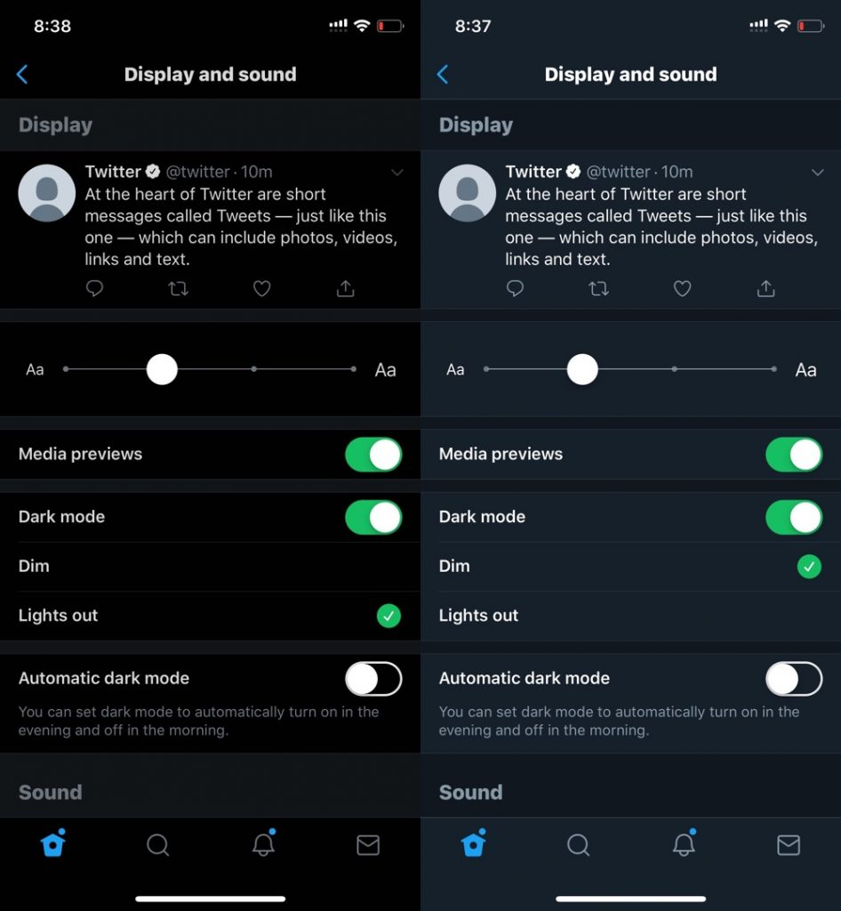 How to Enable Dark Mode in Twitter